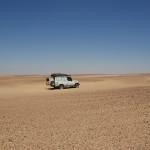 eerste woestijnkamp
