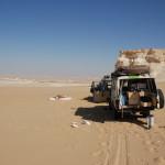 overnachten in white desert